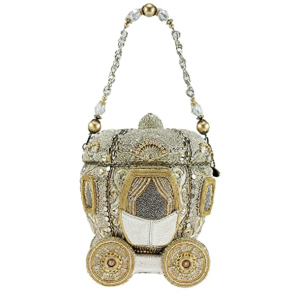 MARY FRANCES Before Midnight Beaded Bejeweled Cinderella Carriage Coach  Purse Handbag  Handbags  Amazon.com 9bff6be1f7a63