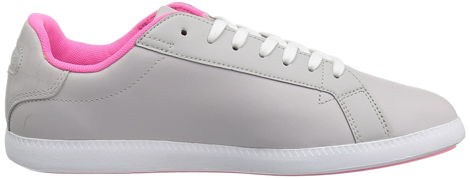 Lacoste Women's Graduate 118 1 SPW Sneaker B072KJHQTG 5 B(M) US|Light Grey/White