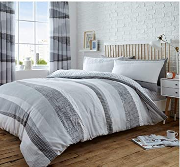 Gadgets2Galore LUXURY PRINTED DEXTER Bed Set with Duvet