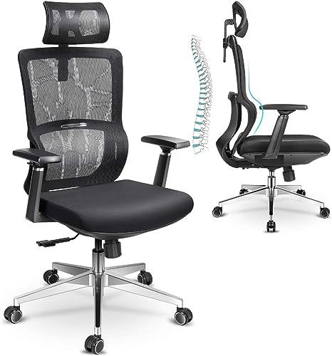 mfavour Ergonomic Office Chair Mesh Chair