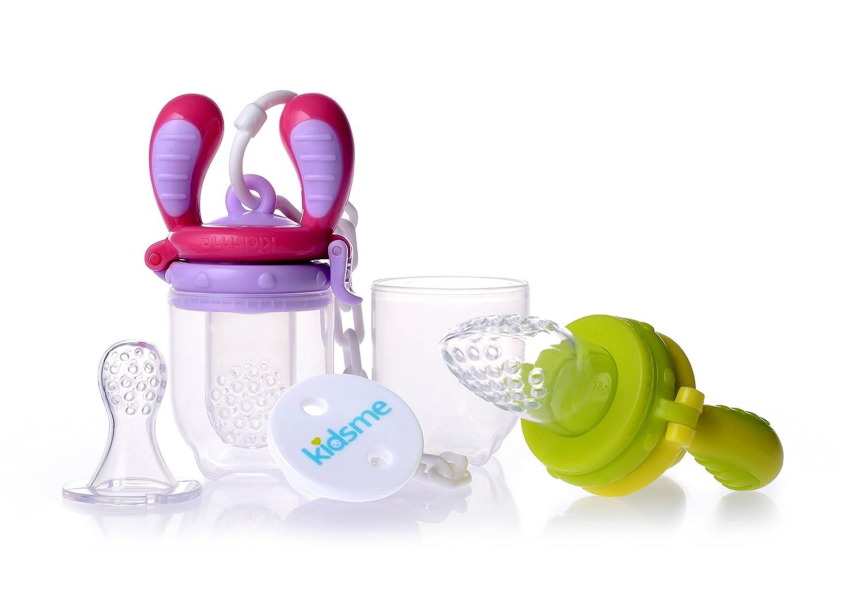 Kidsme Food Feeder Starter Pack (Lime and Lavender) C6603