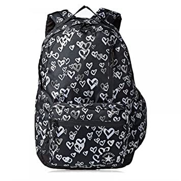 8aec062a1e63 Converse Go Backpack - Black  Amazon.in  Bags