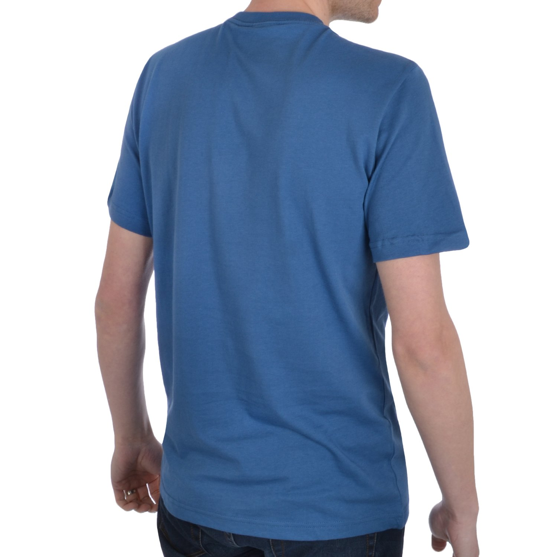 adidas Originals Mens Trefoil Crew Neck T Shirt - Blue