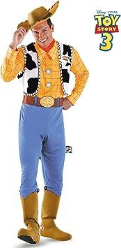Disfraz 179070 Disney Toy Story - Woody Deluxe Adult Costume ...