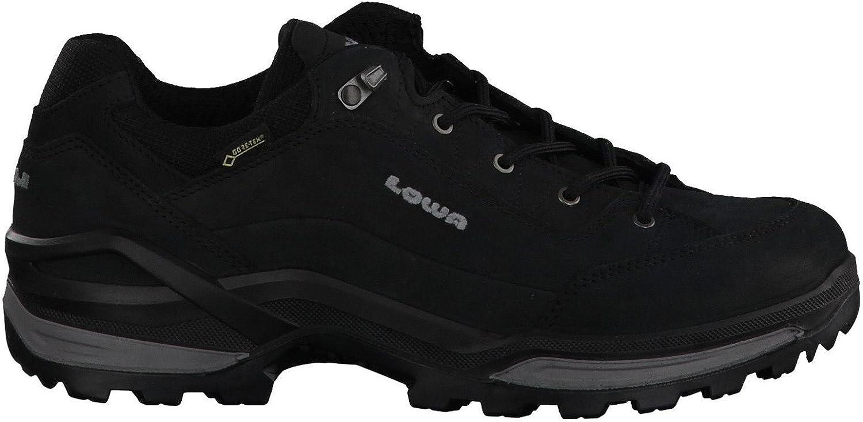Lowa Men's Renegade GTX Lo Black Graphite Athletic Shoe