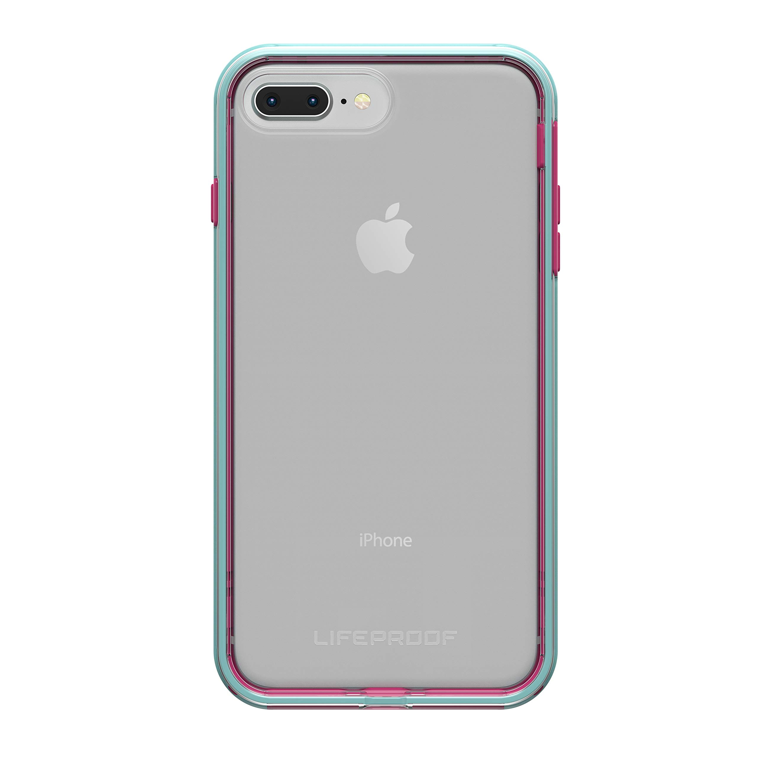Lifeproof SLAM Series Case for iPhone 8 Plus & 7 Plus (ONLY) - Retail Packaging - Aloha Sunset (Clear/Blue Tint/Process Magenta) by LifeProof (Image #2)