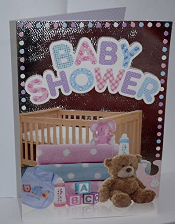 Extra Large Baby Shower Card Ideal For Office Parties Amazon Co