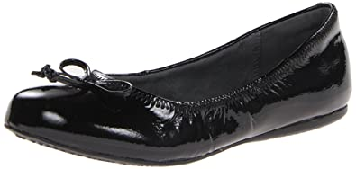 Softwalk Women's Narina Ballet Flat,Black Patent,6 ...