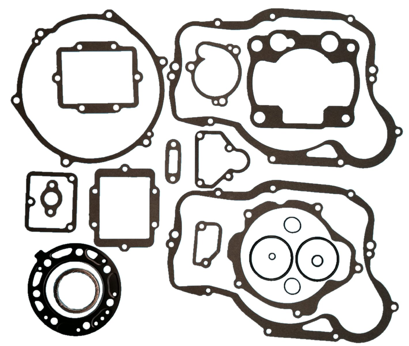 Tuzliufi Replace Complete Top End Gasket Set kit Yamaha YZ80 YZ 80 1993 1994 1995 1996 1997 1998 1999 2000 2001 2002 YZ85 YZ 85 2002 2003 2004 2005 2006 2007 2008 2009 2010 2011 2012 2013-2018 New Z87