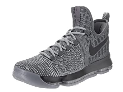 timeless design 83d0e 4c949 Image Unavailable. Image not available for. Color  Nike Mens Zoom KD 9 Dark  Grey Wlf Grey Basketball Shoe ...