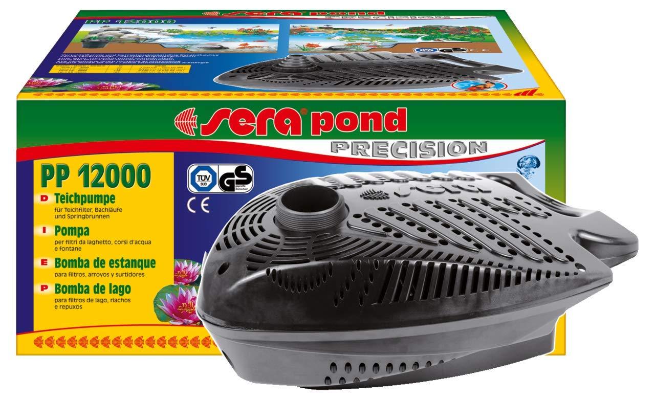 sera pond PP Teichpumpe aber gleichzeitig leistungsstark mit /Überhitzungsschutz f/ür den Teich Einsatz als Filterpumpe oder Bachlaufpumpe im Gartenteich oder Koiteich energiesparend