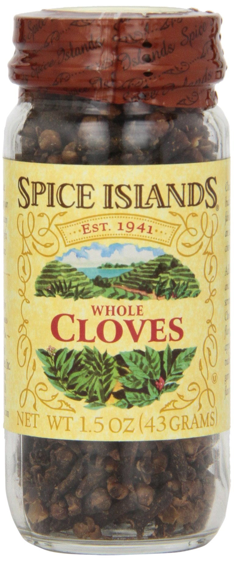 Spice Islands Cloves, Whole, 1.5-Ounce (Pack of 3)