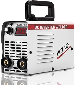 ARC MMA Welder 160A Stick Welding Machine Dual Voltage 110V 220V IGBT Digital Inverter Welder DC Portable Welding Machine Hot Start LCD Anti-Stick