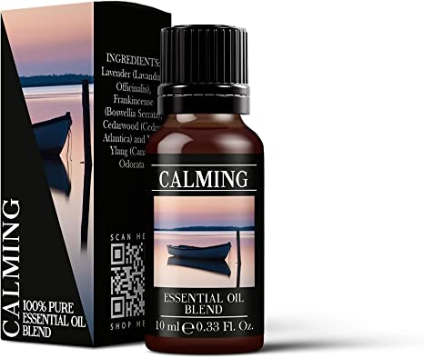 Mystic Moments Calming Essential Oil Blend - 10ml - 100% Pure: Amazon.es: Hogar