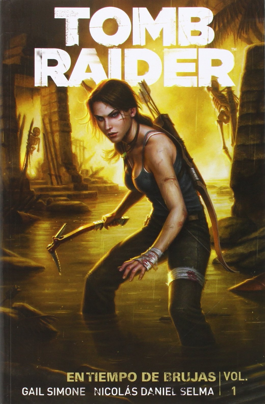 Tomb Raider En Tiempo De Brujas 1: Amazon.es: Simone Gail: Libros