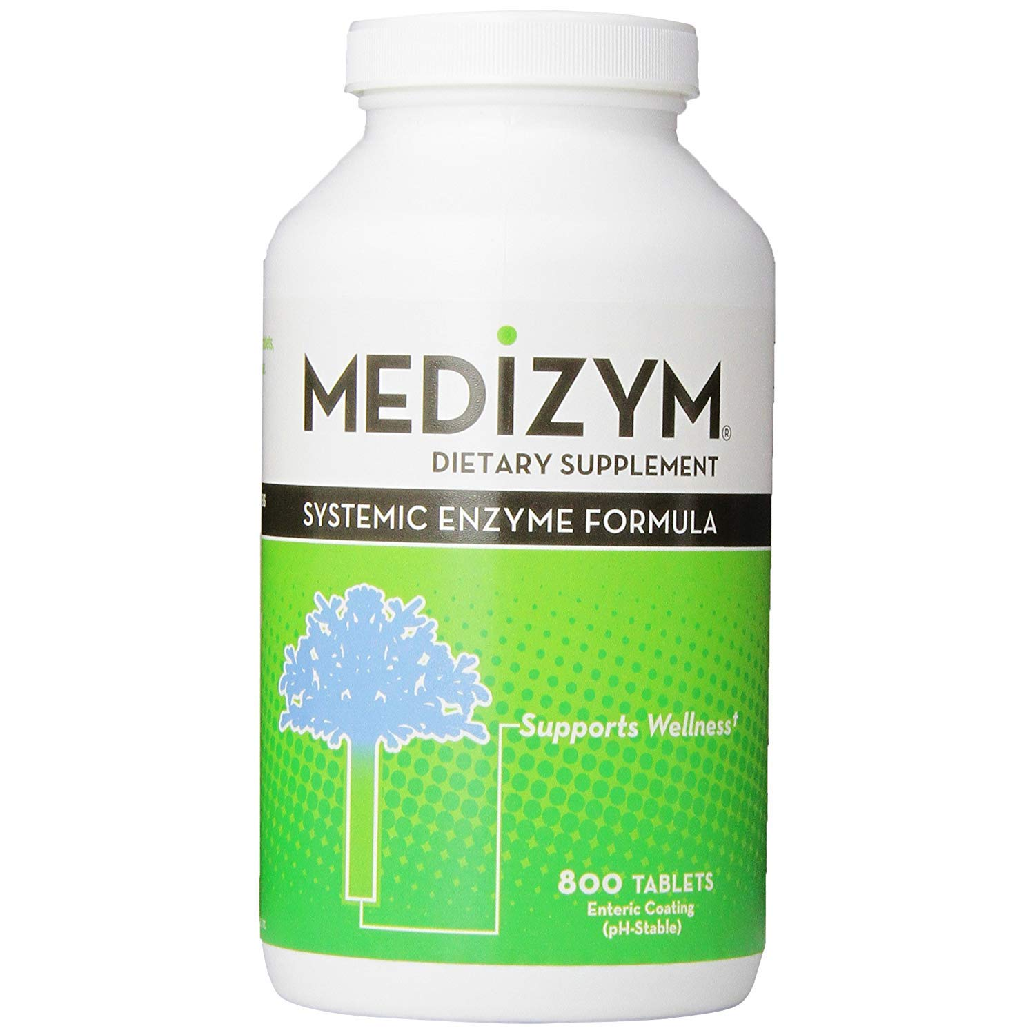Amazon.com: Naturally Vitaminas medizym sistémico enzima ...
