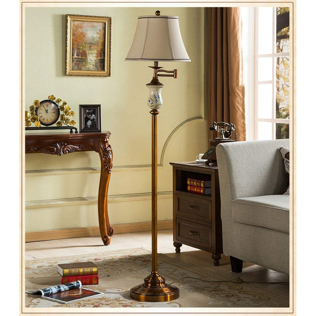 Amazon.com: PLLP Home Floor Lamp, Floor-Standing Reading Led ...