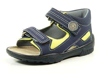 Ricosta Manti Kinder Sandale Größe 21 neongelb/nautic