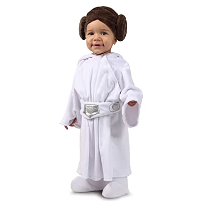 Princess Paradise Star Wars Classic Princess Leia Child's Costume, 3-6M: Toys & Games