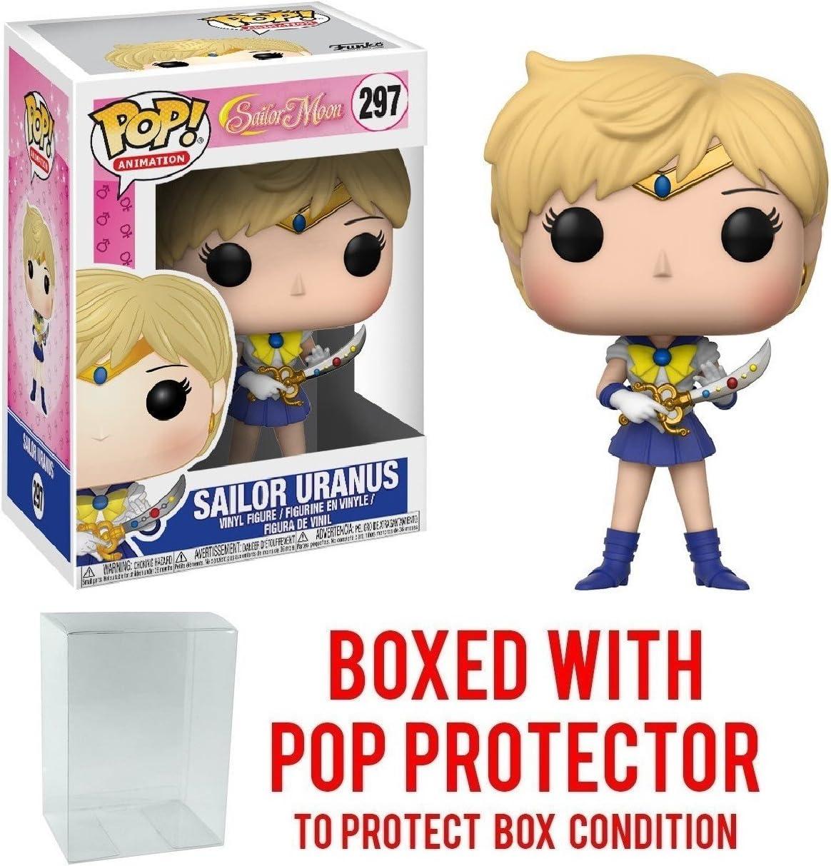 Bundled with Pop BOX PROTECTOR CASE Anime: Sailor Moon Funko Pop Sailor Jupiter Vinyl Figure