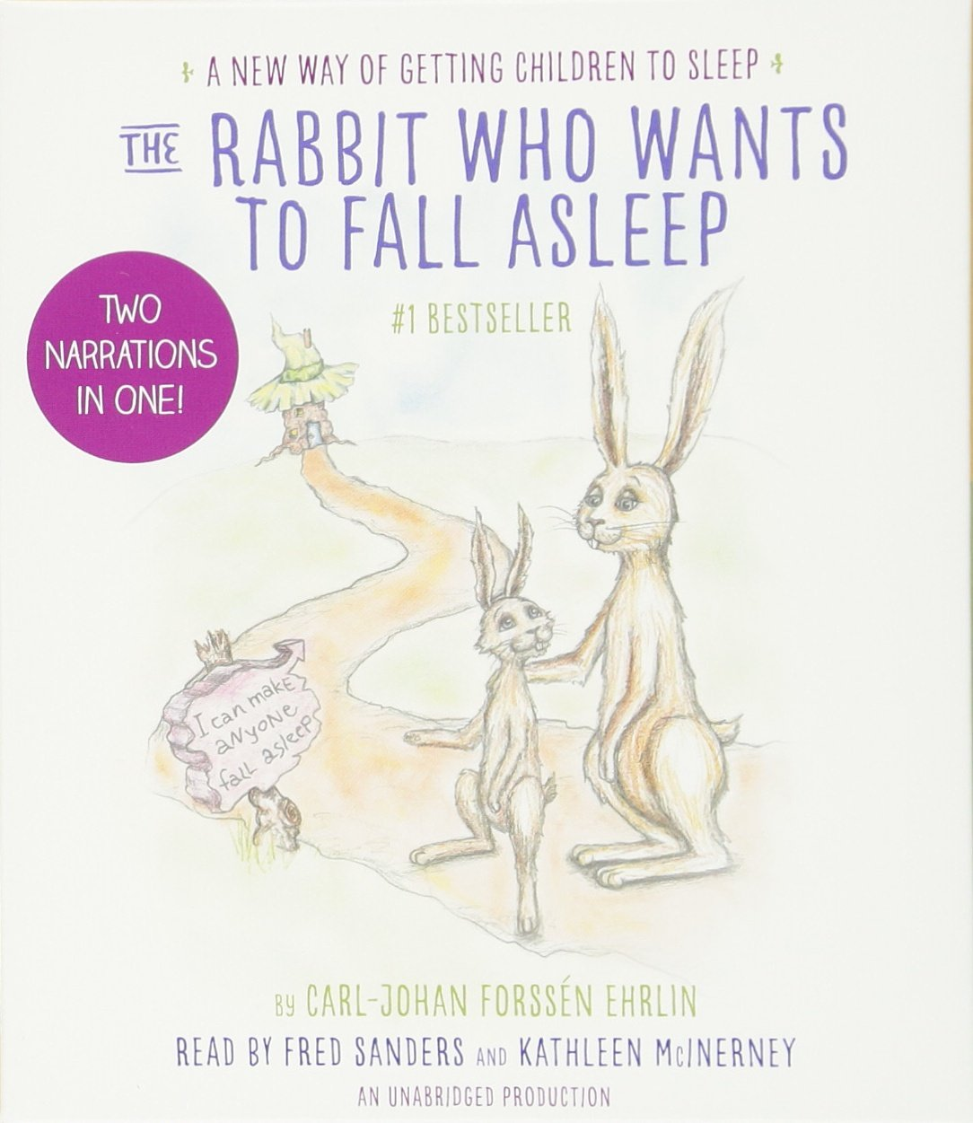 The Rabbit Who Wants To Fall Asleep: A New Way Of Getting Children To  Sleep: Carljohan Forss�n Ehrlin, Fred Sanders, Kathleen Mcinerney:  9780451484635: