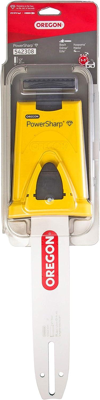 OREGON 542308-12-Inch Powersharp Bar Con Sacapuntas Para 45 Impulsión De Cadena De Acoplamiento