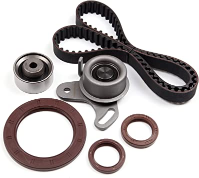 ANPART Timing Belt Kit Fit For 1996-1997 2001-2011 Hyundai Accent 2006-2011 Kia Rio 2006-2011 Kia Rio5 Timing Belt Water Pump Tensioner Gasket Set
