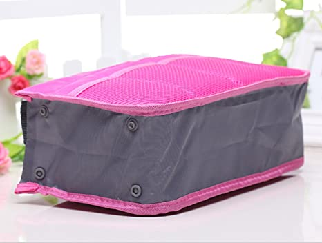 teenxful Sac à main organiseur sac de voyage en Nylon imperméable Pliable de qualité supérieure Diamond Blue-1 Fabrics Fsjydm