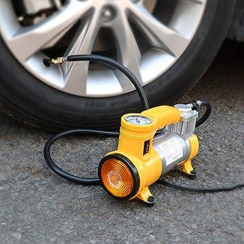 PAN-EX Herramientas para Reparar Compresor de Aire de Bomba de Aire Auto Portable del neumático del Coche con la luz: Amazon.es: Electrónica