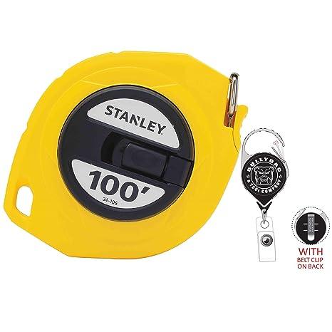 Amazon.com: Stanley - Cinta métrica con cremallera ligera ...