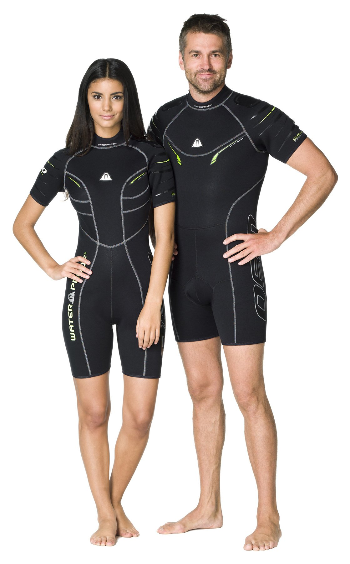 Waterproof Womens W30 2.5mm Sport Series Shorty, X-Small