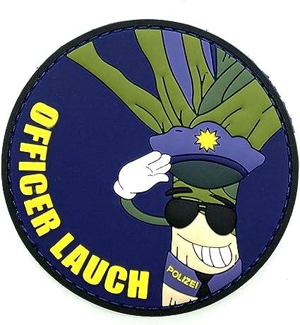 Polizeimemesshop Officer Lauch Rubber Patch Auto
