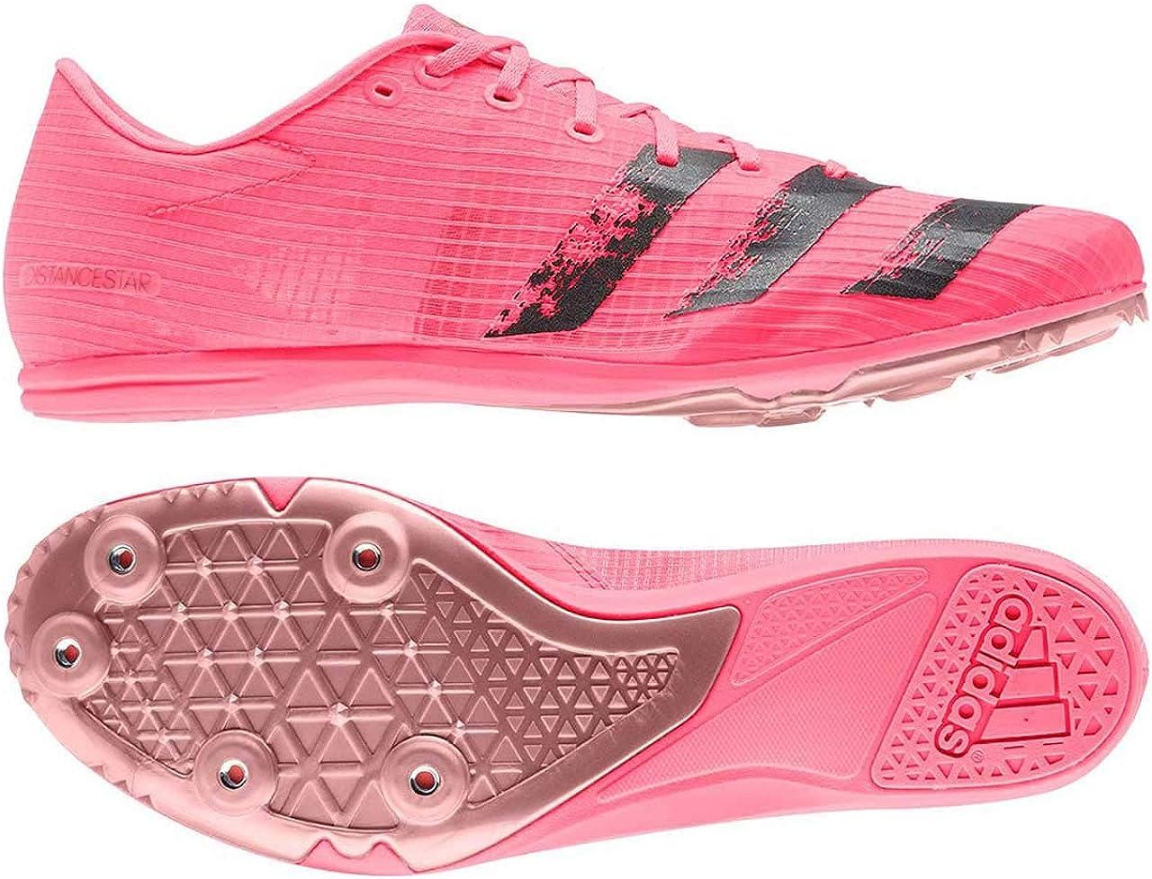 Adidas Herren Distancestar Leichtathletik-Schuh, rot Rossen Negbás Cobmet