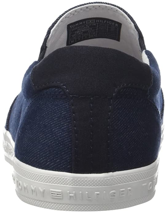 4ed281339da6 Tommy Hilfiger Men s Essential Slip on Sneaker Low-Top  Amazon.co.uk  Shoes    Bags