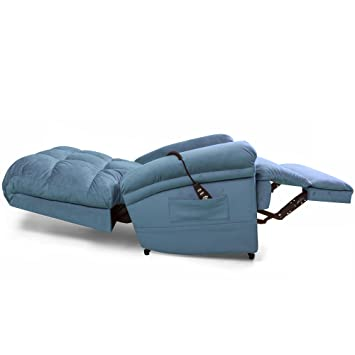 The Perfect Sleep Chair - Lift Chair u0026 Medical Recliner u2013 DuraLux II Microfiber - Indigo  sc 1 st  Amazon.com : perfect recliner - islam-shia.org