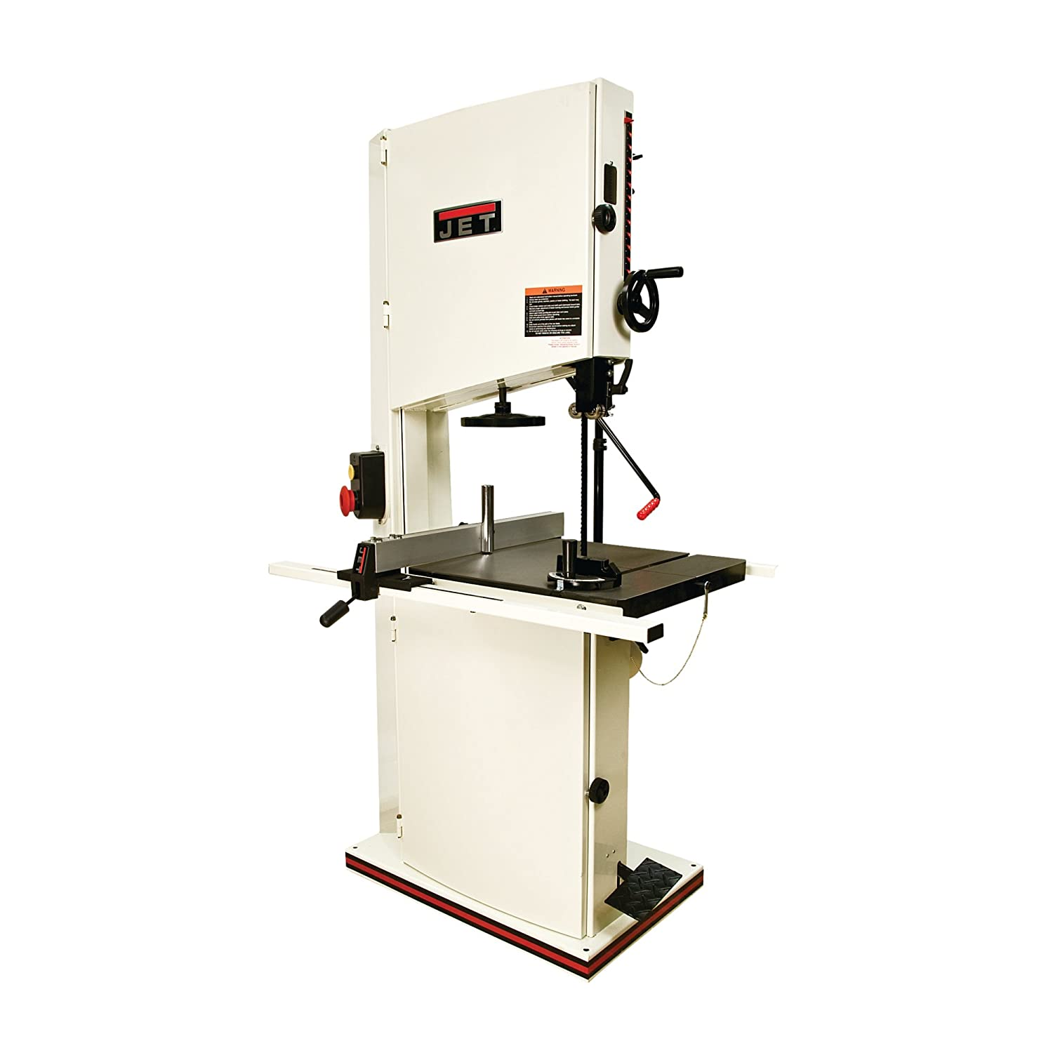 jet bandsaw. jet jwbs-20qt-3 20-inch 3hp 1ph 230-volt wood band saw with quick tensioning lever - power saws amazon.com jet bandsaw