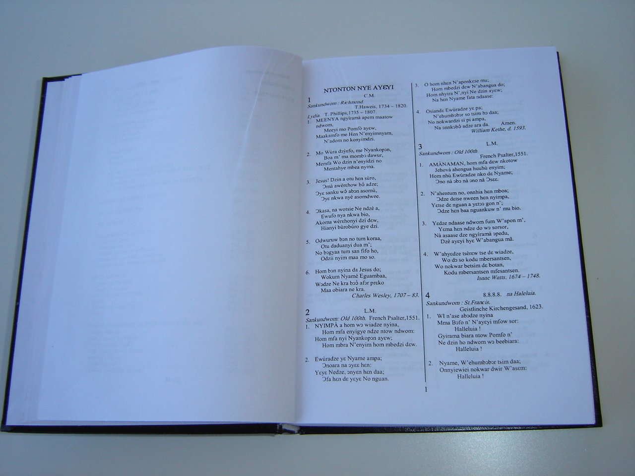 CHRISTIAN ASOR NDWOM FOFOR / Christian Hymnal with more than