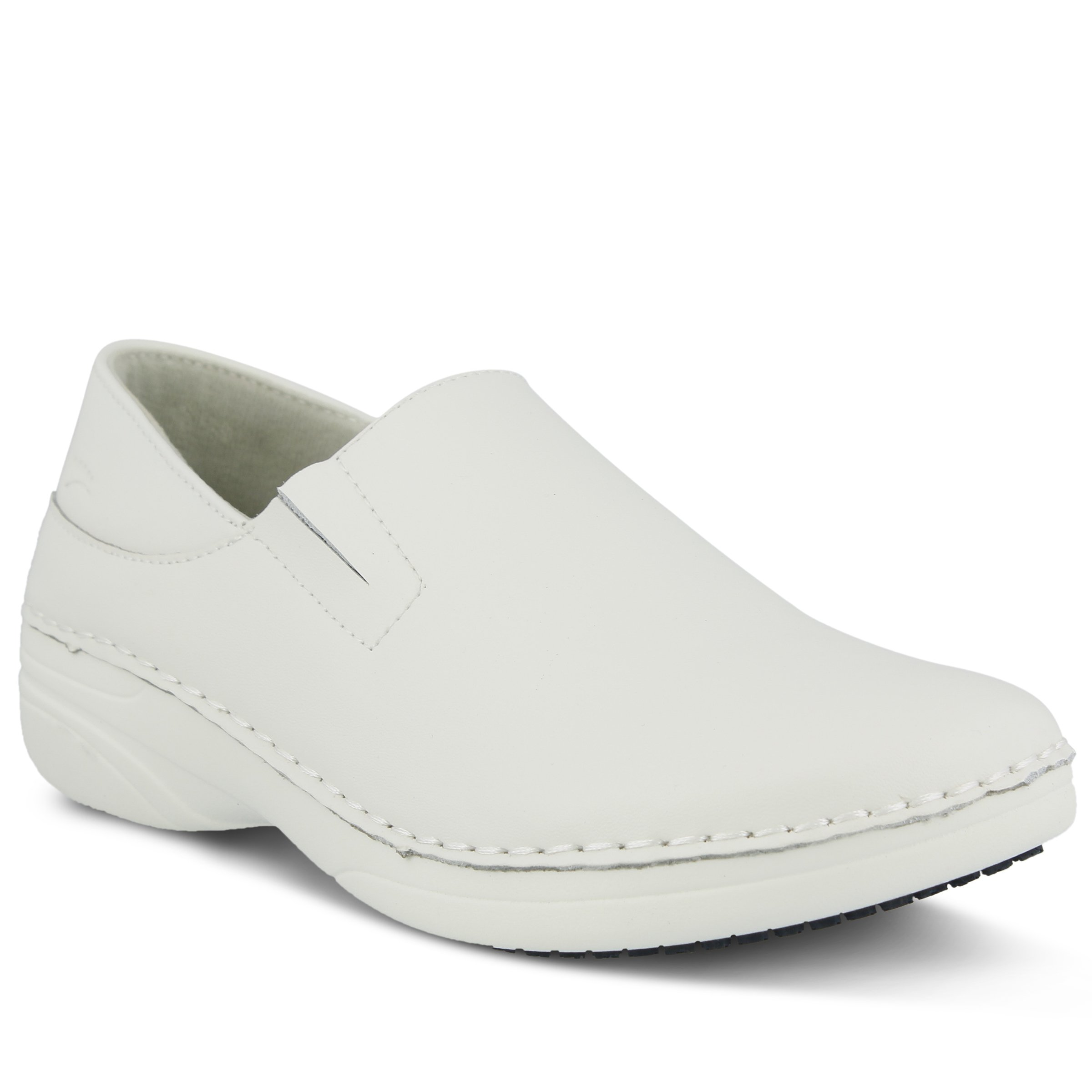 Spring Step Women's Manila Work Shoe, White, 9.5 W US
