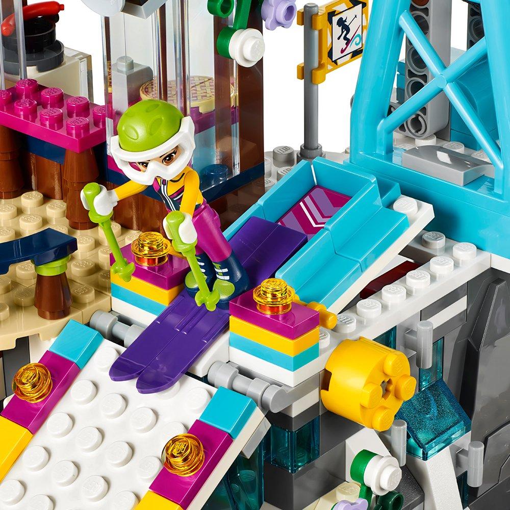 585 Piece LEGO Friends Snow Resort Ski Lift 41324 Building Kit