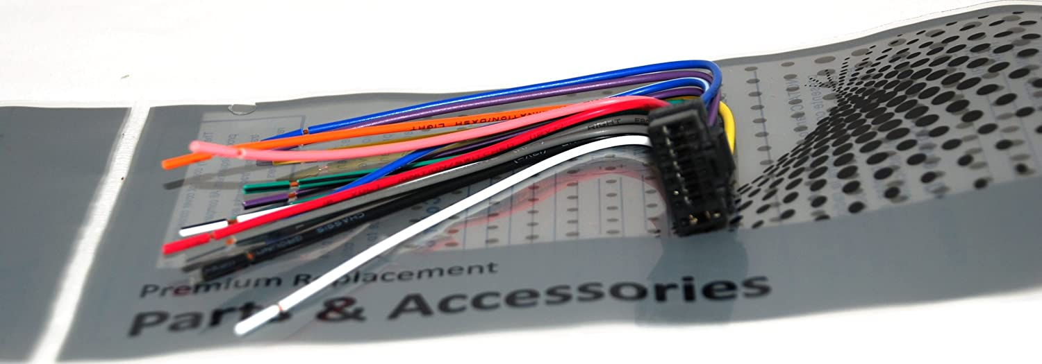 Amazon Alpine Car Stereo Radio Wire Harness Plug Full 16 Pin. Amazon Alpine Car Stereo Radio Wire Harness Plug Full 16 Pin Cda Cde Iva Automotive. Wiring. Alpine Cde 143bt Wiring Diagram Xj At Scoala.co