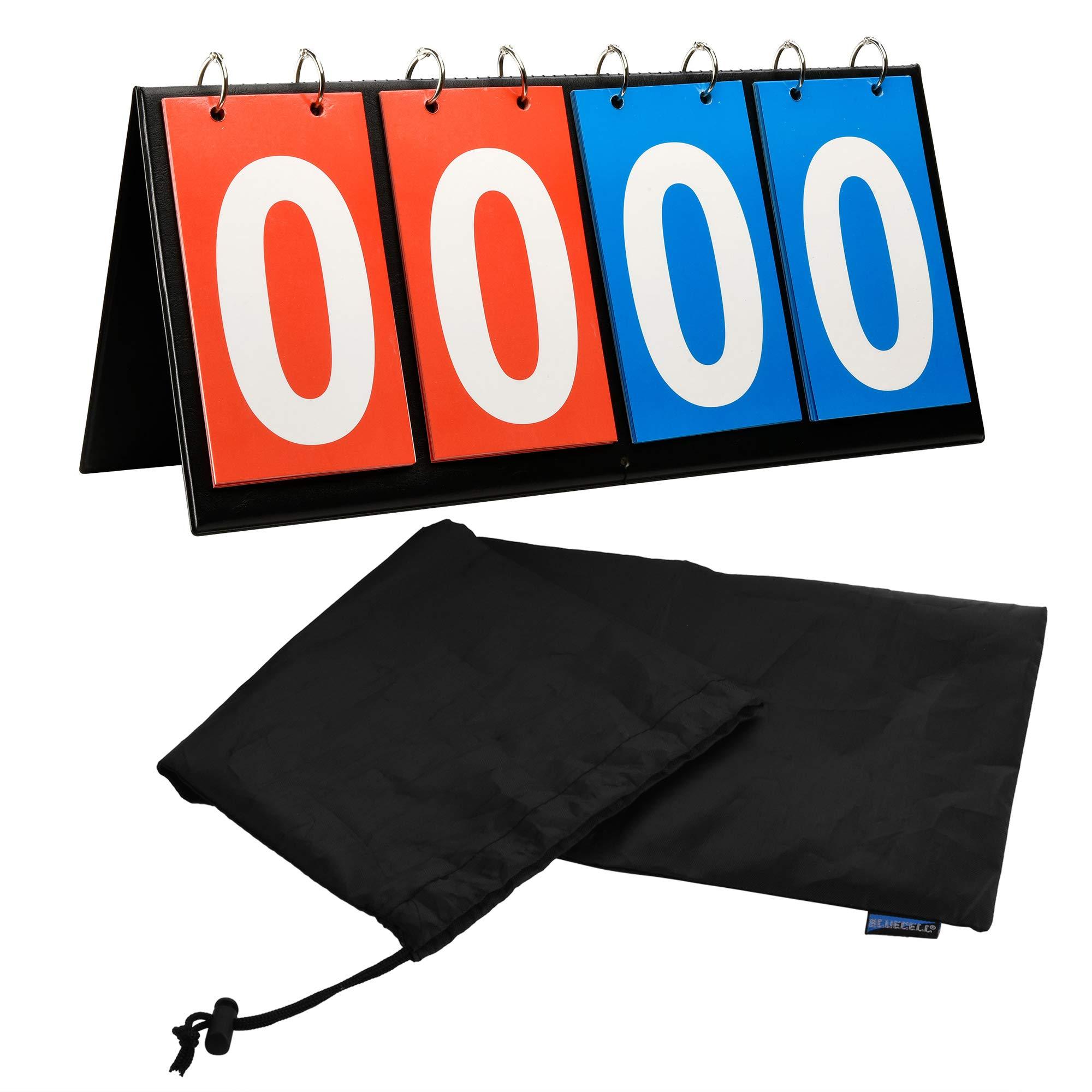 4-Digital Tabletop Sports Flipper Scoreboard For Volleyball Football Basketball