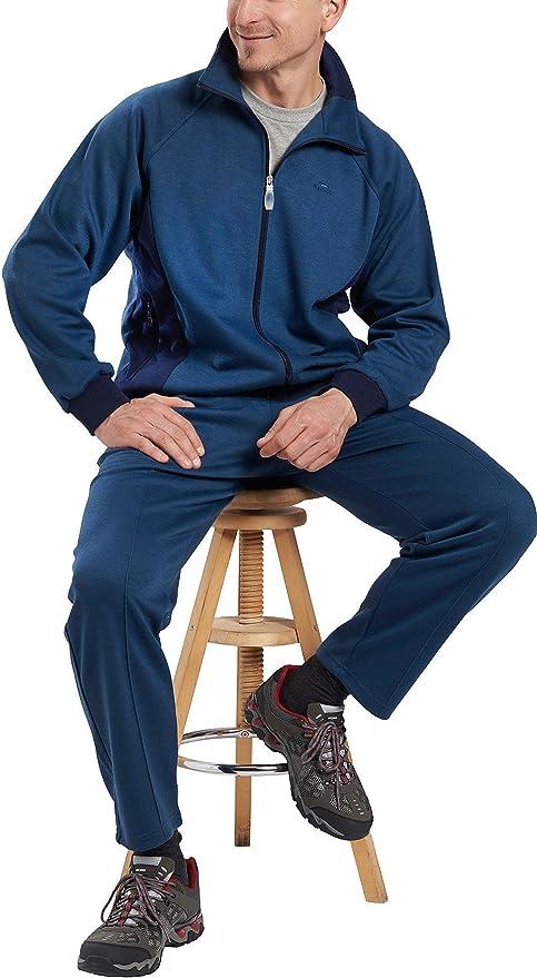 Nordcap Herren Trainingsanzug Jogginganzug mit 2 Hosen