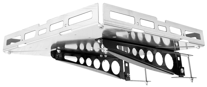 TM Mount-n-Lock GennyGo RV 4-Inch Bumper-Mounted Generator and Cargo Carrier Tray Kit 24 x 24, Steel-Heavy Duty