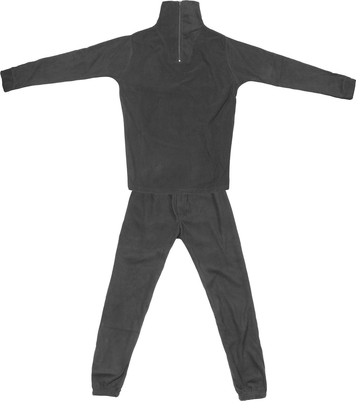 Thermofleece Unterwäsche Set mit Reißverschluss