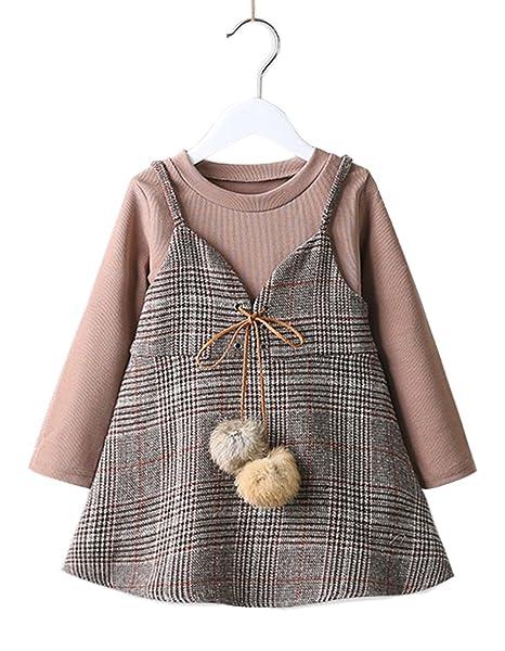 Amazon.com stylesilove Sweet Little Girls Vest Dress and
