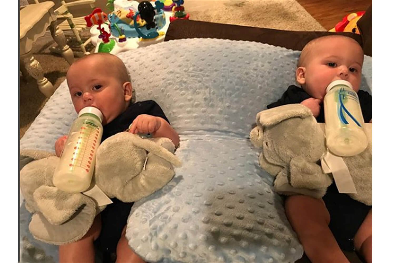 Funda Baby Coj/ín Coj/ín de lactancia azul azul twinki el coj/ín de lactancia y almacenar Coj/ín para G/éminis Espalda Soporte