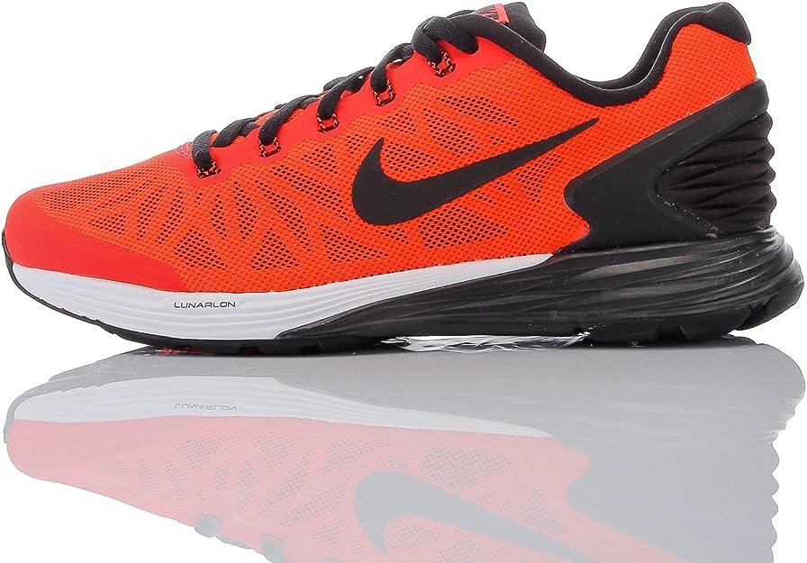 lawyer To separate Flock  Nike Sneaker Lunarglide 6 Rosso/Nero EU 36.5: Amazon.it: Scarpe e borse