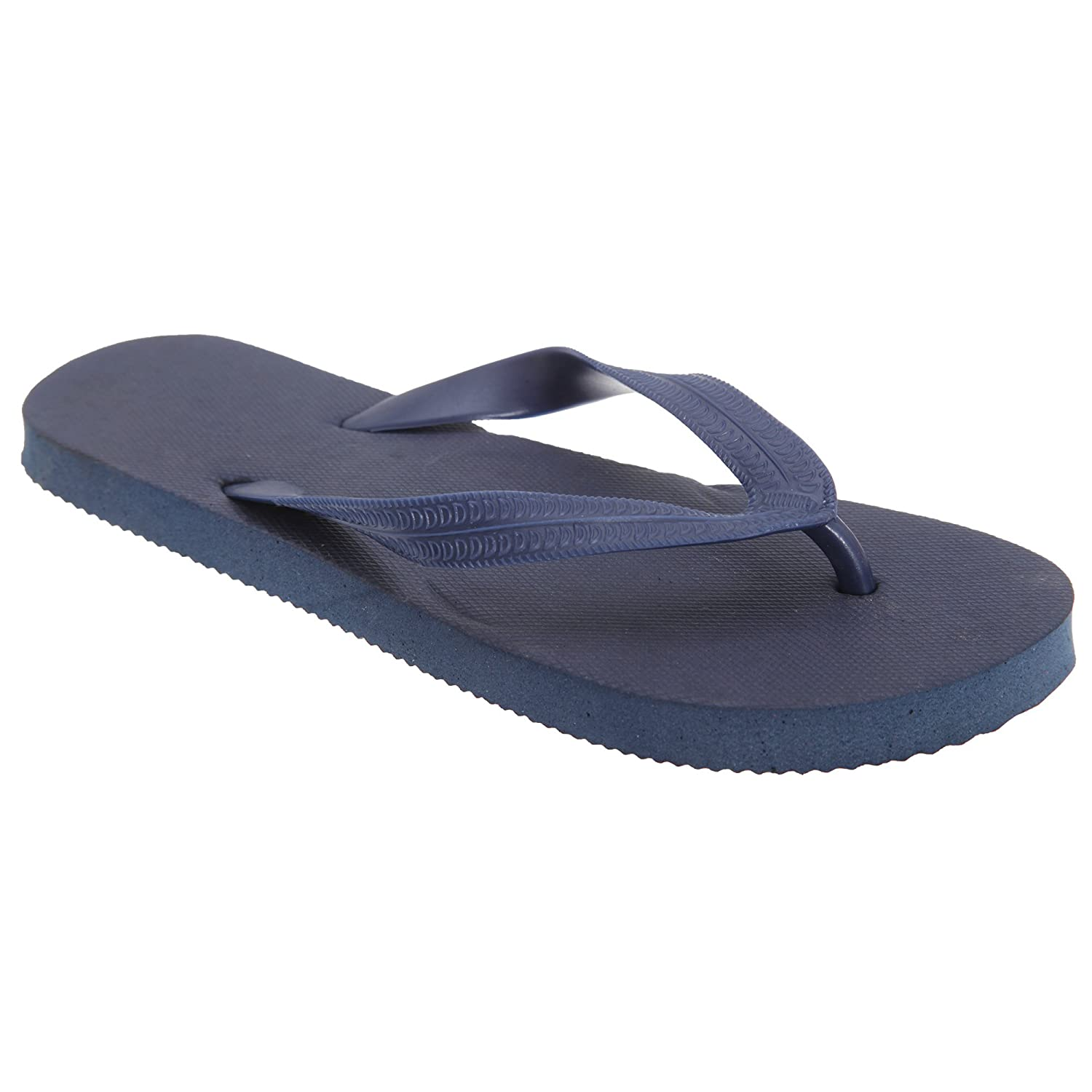 Floso Childrens/Kids Boys Solid Colour Flip Flops