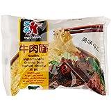 Kaïlo Brand Nouilles Chinoises Instantanées au Goût de Bœuf le Sachet de 85 g - Lot de 10