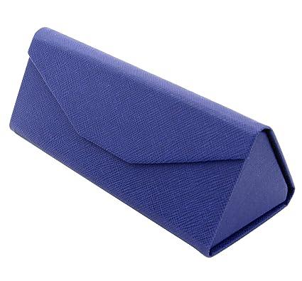 TBOC Funda Plegable Gafas de Sol - Estuche Rígido [Triangular] con [Cierre Magnético] y Forro Interior Guardar Bolso Mochila Coche Gafas de Ver ...